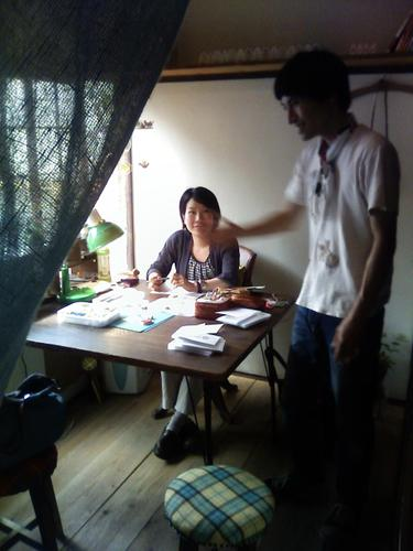 桜坂のさくら荘の一室