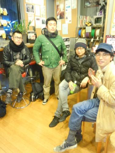 2012年12月30日(土)薬院 ユーテロ