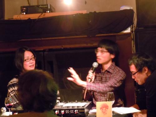 ◆2013年10月22日(火)『やないけい/「火をおこすうた」発売記念アルバム鑑賞会』