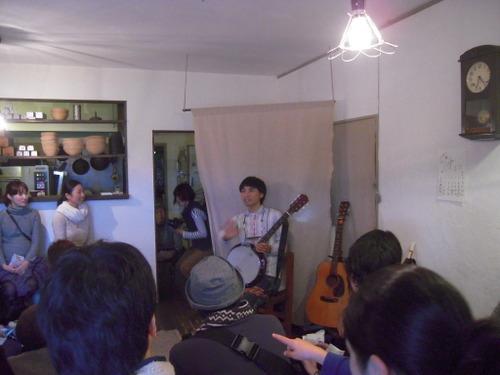 2011年1月30日(日)今泉 農民会館